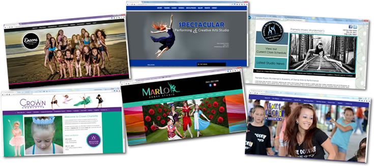 If need of a new studio website? Visit Studio of Dance .com to see whether we're a good fit!